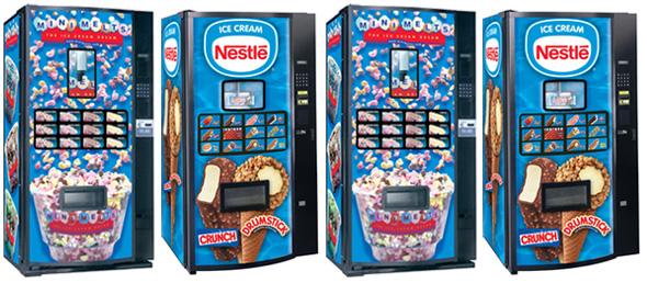 nescafe vending machine usa